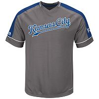 Big & Tall Majestic Kansas City Royals Dominant Campaign Tee