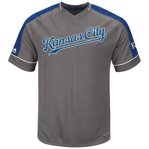 Big & Tall Majestic Kansas City Royals Dominant Campaign Tee
