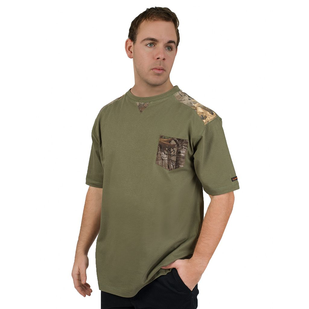Men's Realtree Pocket Tee