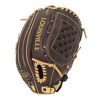 Adult Louisville Slugger 12-in. Left Hand Throw Omaha Select Brown Baseball Glove