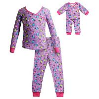 Girls 4-14 Dollie & Me Candy Pajama Set