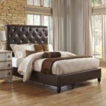 Pulaski Sleigh Upholstered Queen Bed