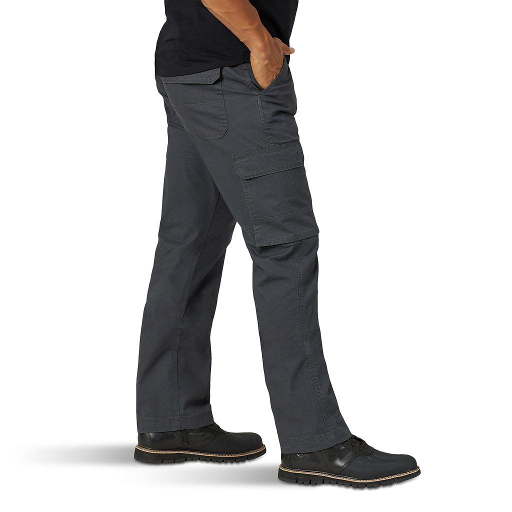 Men's Wrangler Twill Ripstop Cargo Pants