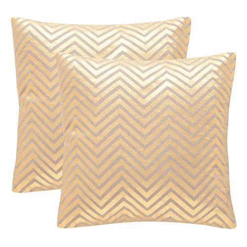 Safavieh Elle Throw Pillow 2-piece Set