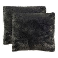 Safavieh Faux Fox Throw Pillow 2 pc Set