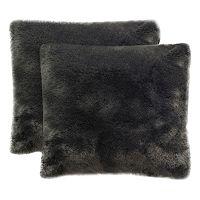 Safavieh Faux Fox Throw Pillow 2-piece Set