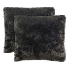 Safavieh Faux Fox Throw Pillow 2-piece Set