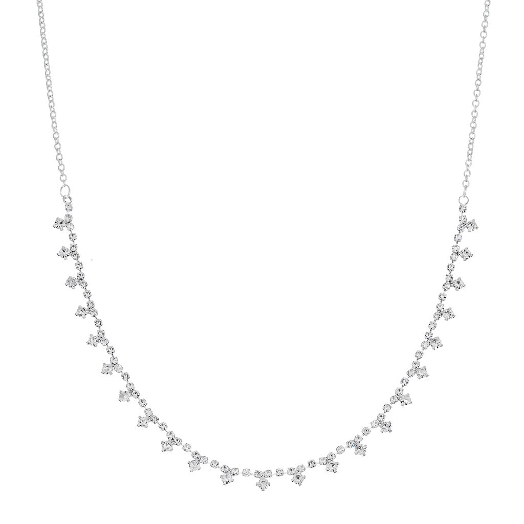 Diamond-Shaped Collar Necklace