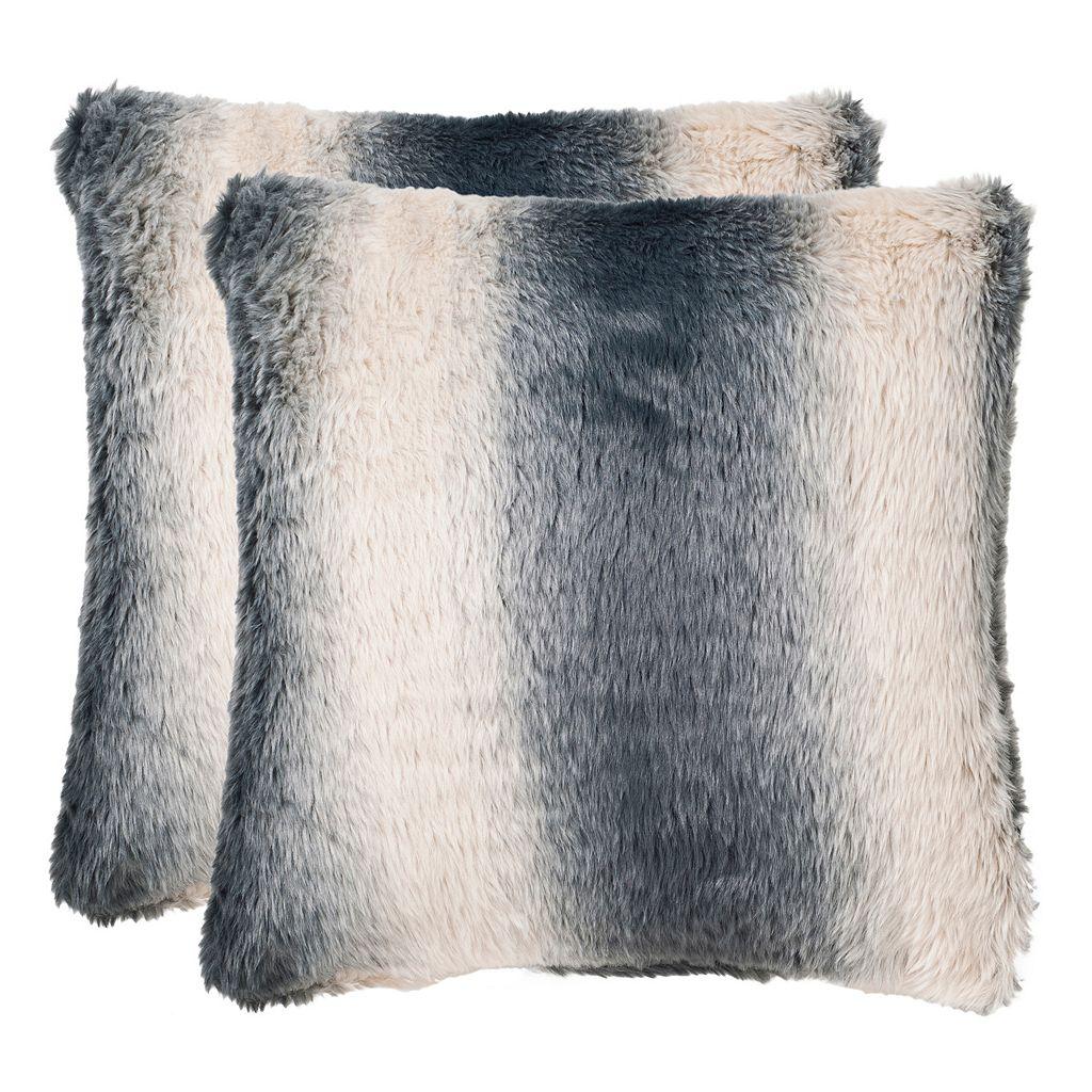 Safavieh Ombre Throw Pillow 2-piece Set