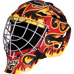 Franklin Youth Calgary Flames GFM 1500 Street Hockey Goalie Face Mask