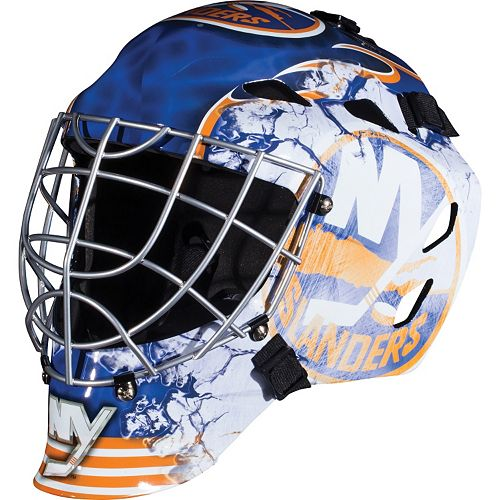 Franklin Youth New York Islanders GFM 1500 Street Hockey Goalie Face Mask