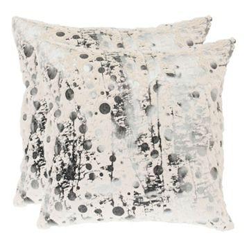 Safavieh Nars Throw Pillow 2-piece Set