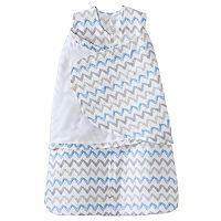 Baby Boy HALO SleepSack Chevron Muslin Swaddle