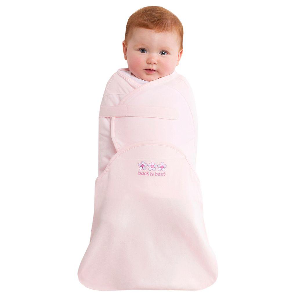 Baby Girl HALO Swaddlesure Print Adjustable Swaddle