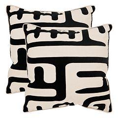 Safavieh Maize Throw Pillow 2-piece Set