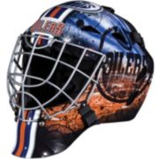 Franklin Youth Edmonton Oilers GFM 1500 Street Hockey Goalie Face Mask