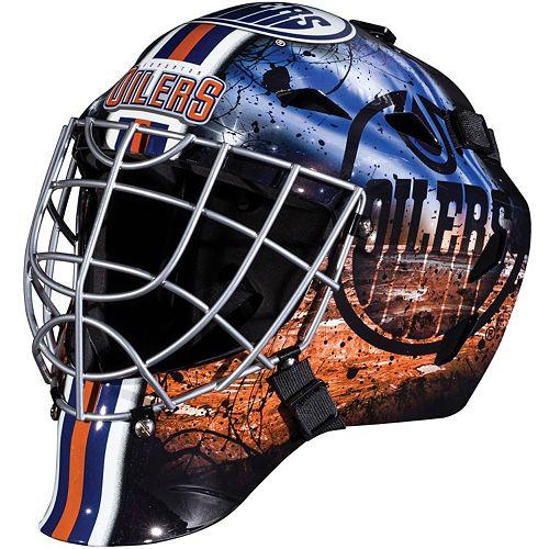 Franklin Youth Edmonton Oilers GFM 1500 Street Hockey Goalie Face Mask