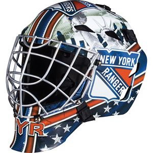 Franklin Youth Columbus Blue Jackets Gfm 1500 Street Hockey Goalie Face Mask