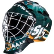 Franklin Youth San Jose Sharks GFM 1500 Street Hockey Goalie Face Mask