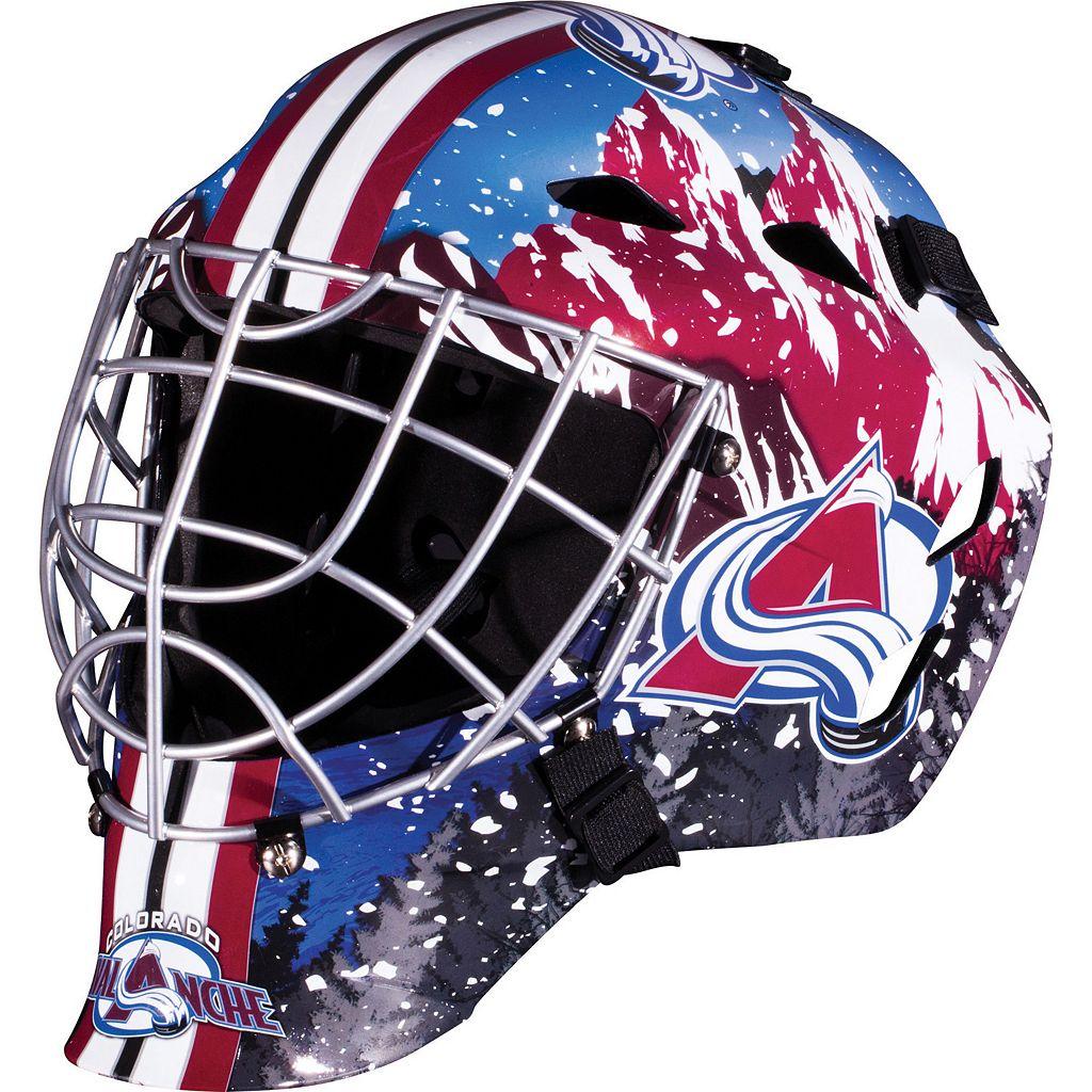 Franklin Youth Colorado Avalanche GFM 1500 Street Hockey Goalie Face Mask