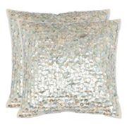 Safavieh Dialia Seashell Throw Pillow 2 pc Set