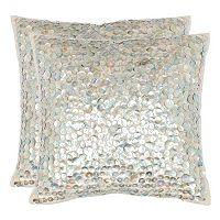 Safavieh Dialia Seashell Throw Pillow 2-piece Set