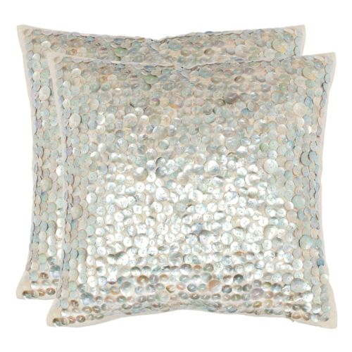 Safavieh Dialia Seashell Throw Pillow 2-piece Set