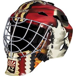 Franklin Youth Arizona Coyotes GFM 1500 Street Hockey Goalie Face Mask