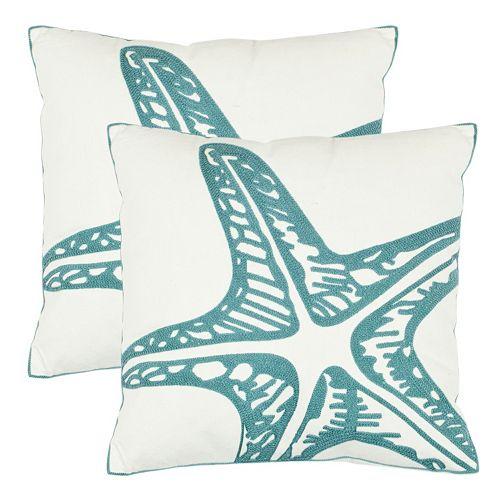 Safavieh Whitney Throw Pillow 2-piece Set