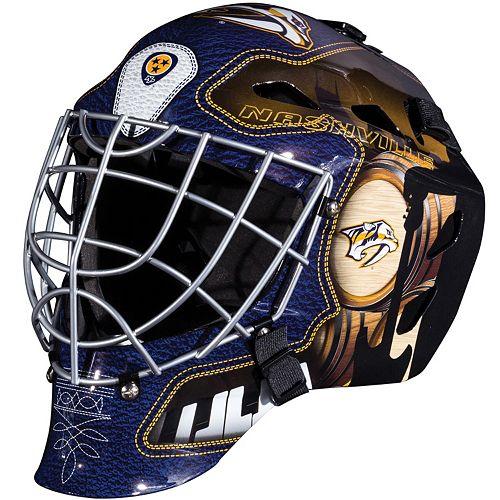 Franklin Youth Nashville Predators GFM 1500 Street Hockey Goalie Face Mask