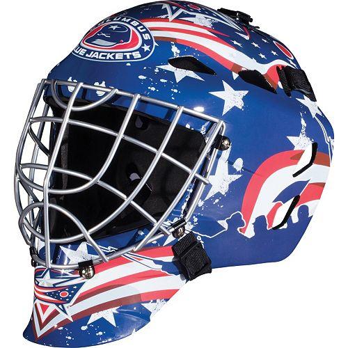 Franklin Youth Columbus Blue Jackets GFM 1500 Street Hockey Goalie Face Mask