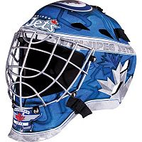 Franklin Youth Winnipeg Jets GFM 1500 Street Hockey Goalie Face Mask
