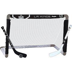 Franklin Sports Los Angeles Kings Mini Hockey Goal Set