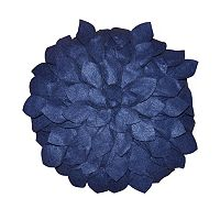 Seventeen Eden Round Petal Throw Pillow