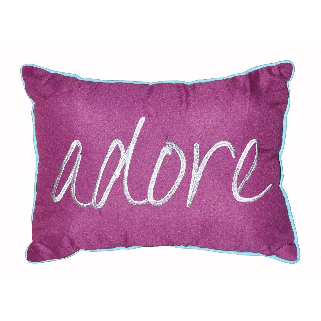 Seventeen Marrakesh Script Oblong Throw Pillow