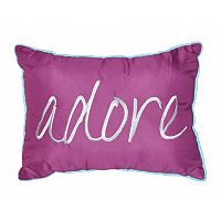 Seventeen Marrakesh Script Oblong Throw Pillow