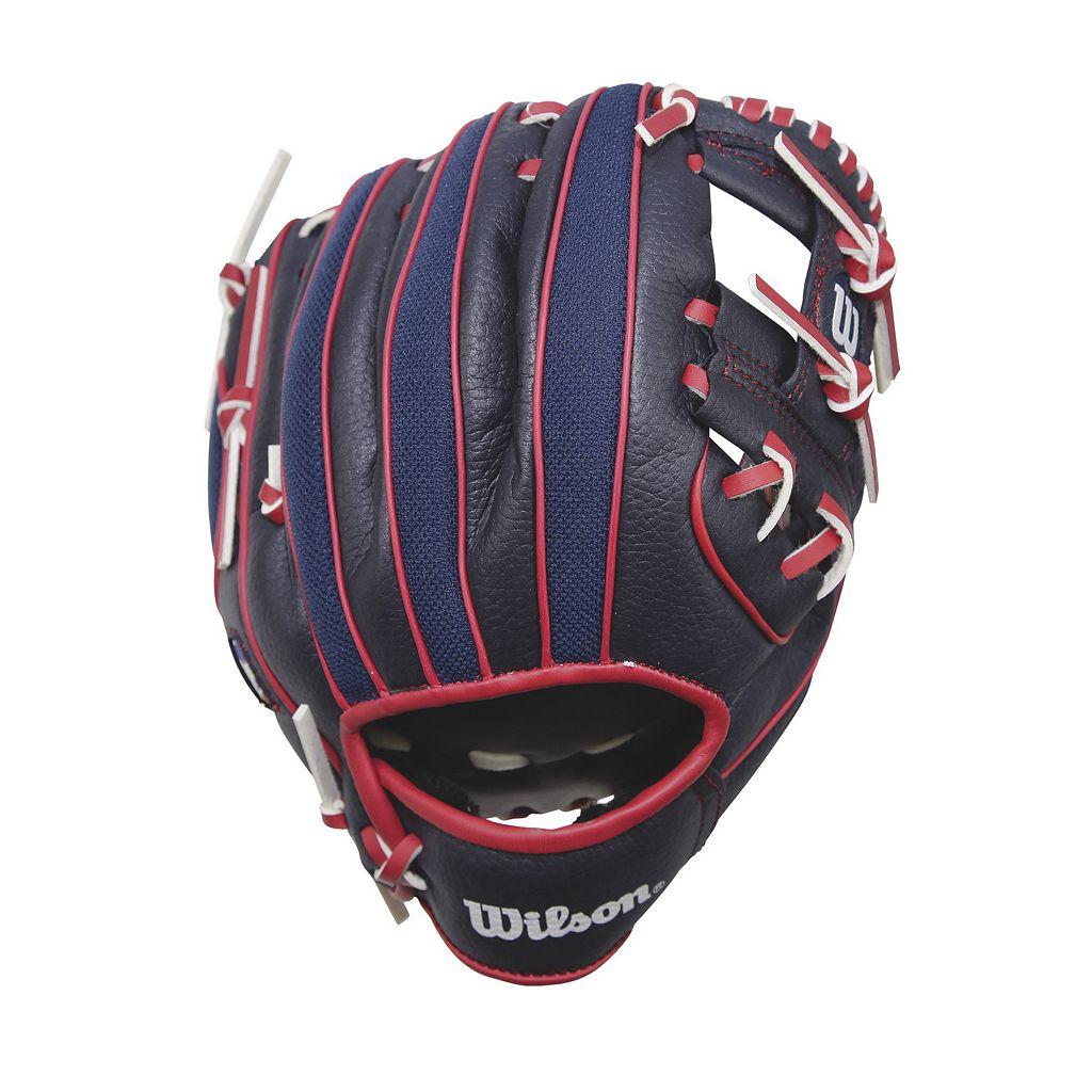 Youth Wilson A0200 10-in. Major League Baseball Team Right Hand Throw Baseball Glove