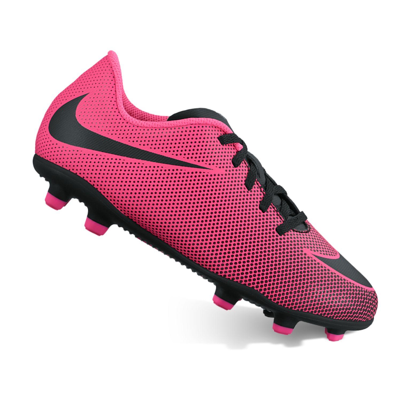 Nike Jr. Bravata II Kids\u0027 Firm-Ground Soccer Cleats