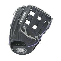 Adult Louisville Slugger 12.5-in. Left Hand Throw Xeno Black Fastpitch Softball Glove