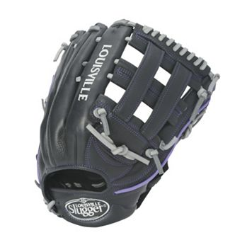 Adult Louisville Slugger 12.5-in. Left Hand Throw Xeno Black Fastpitch Softball Glove