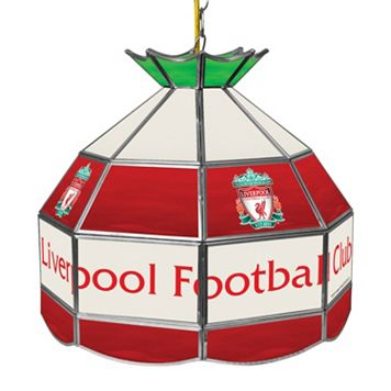 Liverpool FC Hanging Tiffany Lamp