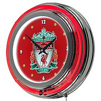 Liverpool FC Neon Wall Clock