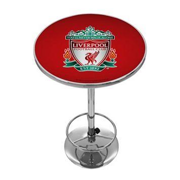 Liverpool FC Chrome Pub Table