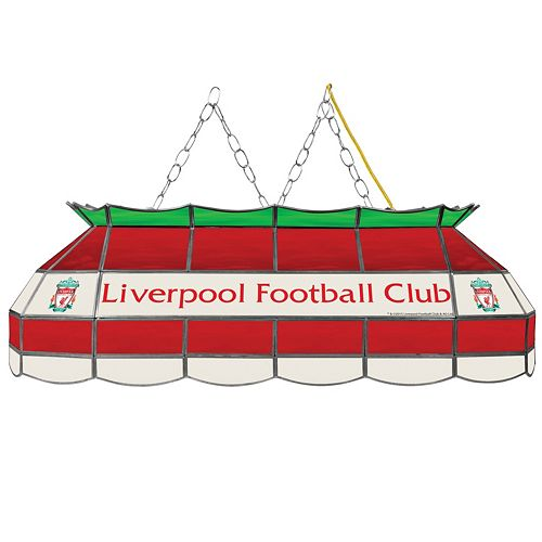 Liverpool FC Hanging Tiffany Bar Lamp