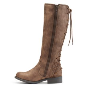 Candie's® Girls' Lace-Up Riding Boots