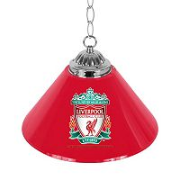 Liverpool FC Single Chrome Bar Lamp