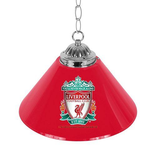 Liverpool FC Single Chrome Bar Lamp