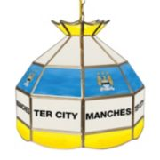 Manchester City FC Hanging Tiffany Lamp
