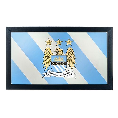 Manchester City FC Framed Mirror