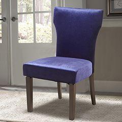 Pulaski Plum Velvet Dining Chair